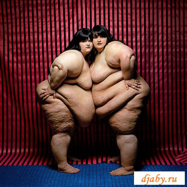 Огромные девки показывают тело