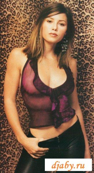 Несколько эротичных фото с Jessica Biel