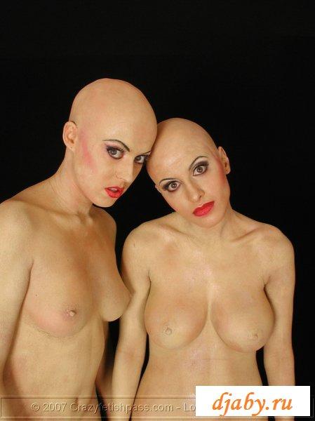 Сексуальные лысые девушки на пикантных кадрах