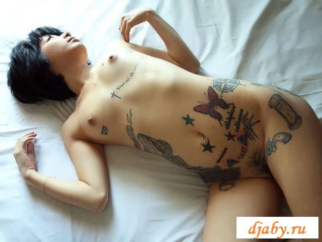 Эротика эмо симпатичной китаянки (42 фото)
