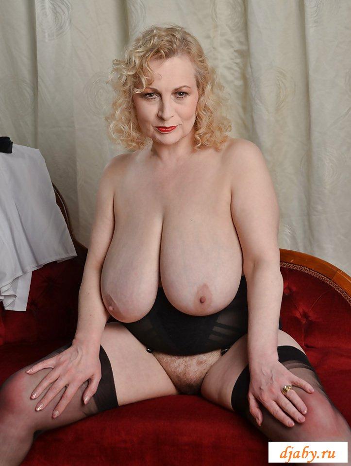 Толстая бабка хочет выглядеть эротично